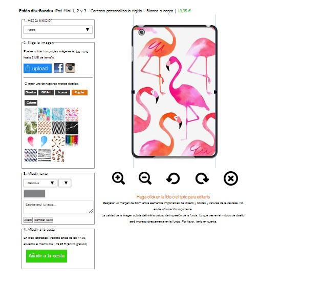 Personalizzare cover iPad Mini 4