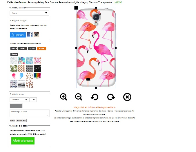 personalised Samsung Galaxy S4 hard case