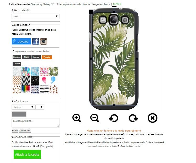Personalizzare cover Samsung Galaxy S3