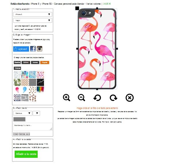Personalizza la cover morbida per il tuo iPhone 5, 5S e SE