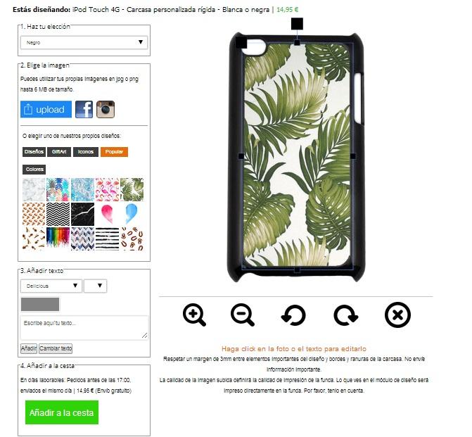 Cover personalizzata Ipod 4