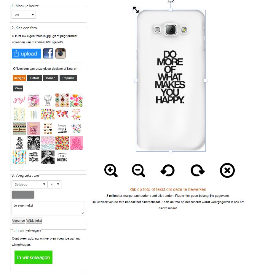Cover personalizzabili Galaxy A8