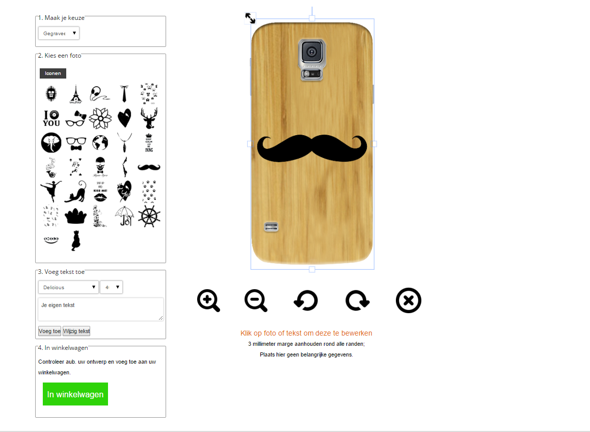 Cover personalizzabili Samsung Galaxy s5