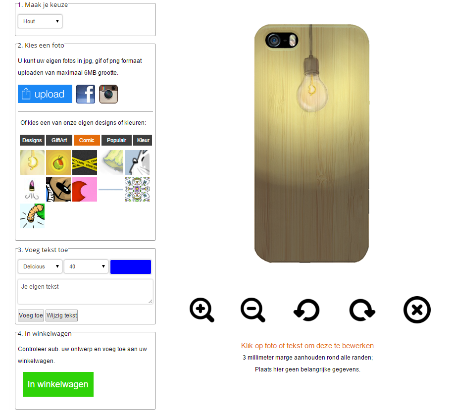 Crea la tua cover per iPhone 6