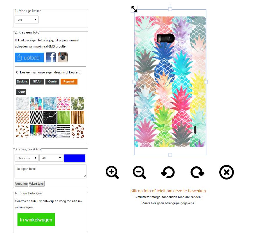 Cover personalizzata Nokia Lumia
