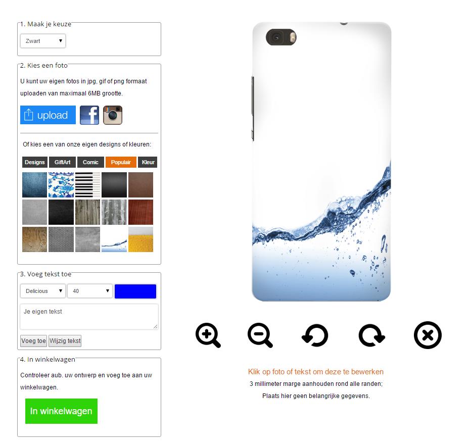 Cover personalizzabili Huawei Ascend P8 Lite