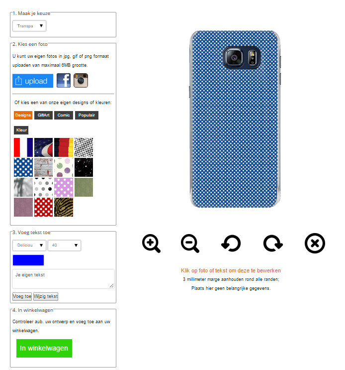 Cover personalizzabili S6 edge plus