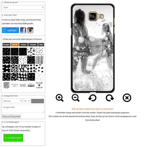Cover con foro Galaxy A3