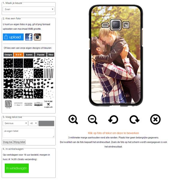 Personalizza la tua cover Samsung Galaxy J1