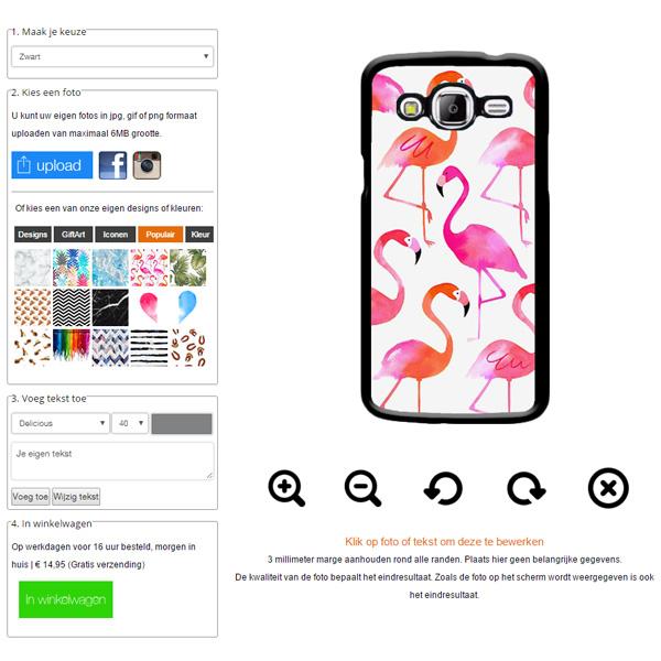 Crea la tua cover Samsung Galaxy J5