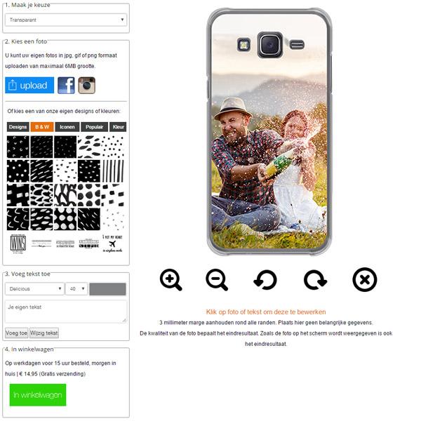 La tua cover personalizzata Samsung Galaxy J5