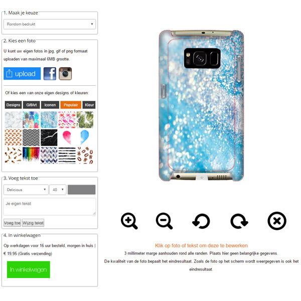 Samsung Galaxy S8 cover personalizzata