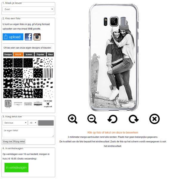 Crea una cover per Galaxy S8