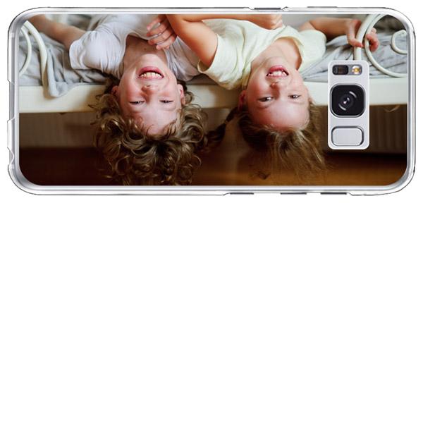 Galaxy S8 plus cover personalizzata morbida