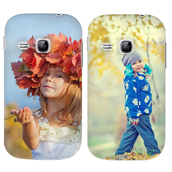 Cover con foto samsung galaxy young