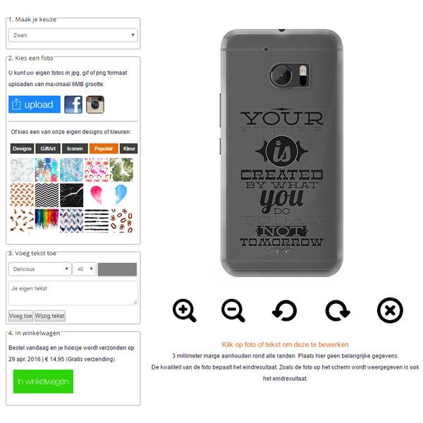 Cover personalizzate HTC 10