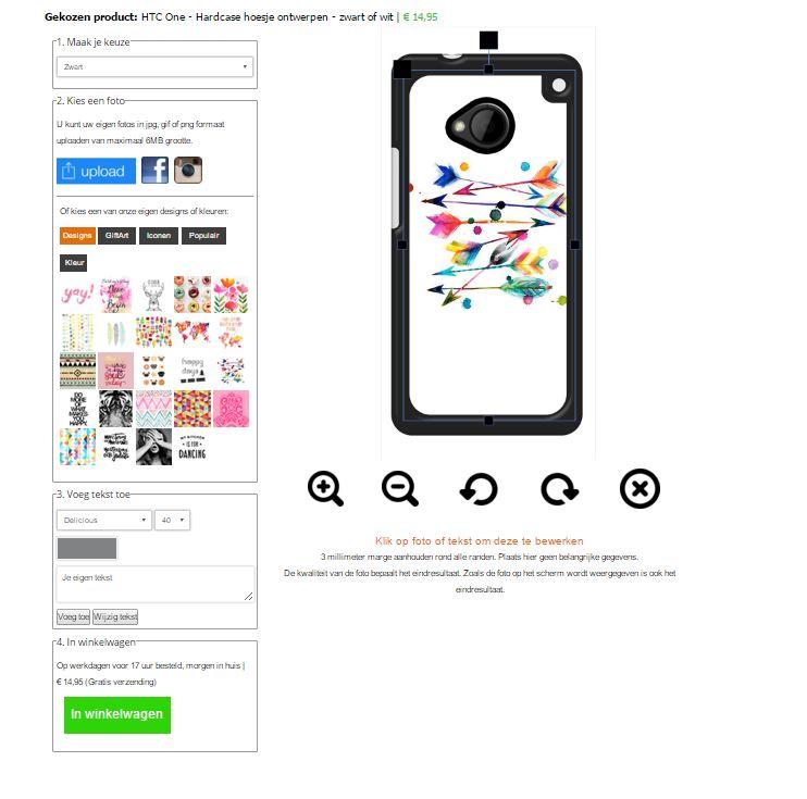 Crea la tua cover personalizzata HTC One