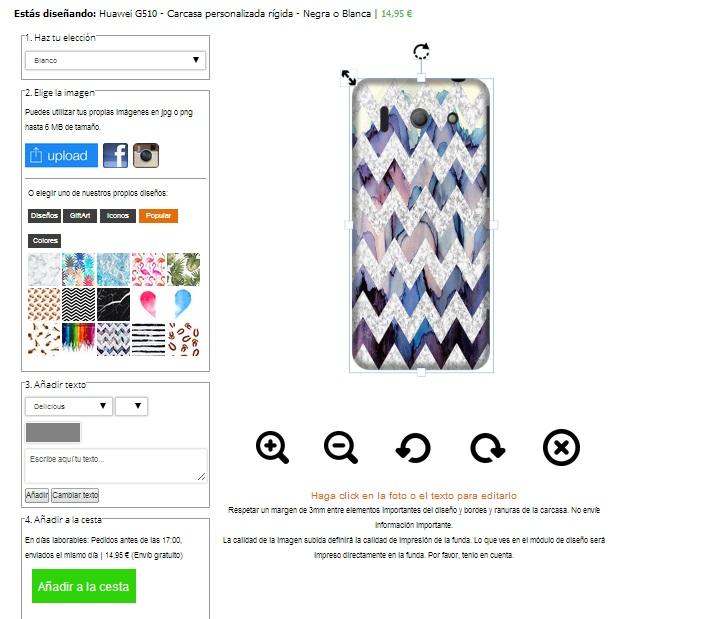 Cover con foto per Huawei G510