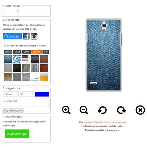 Personalizzare cover per Huawei AScend G700