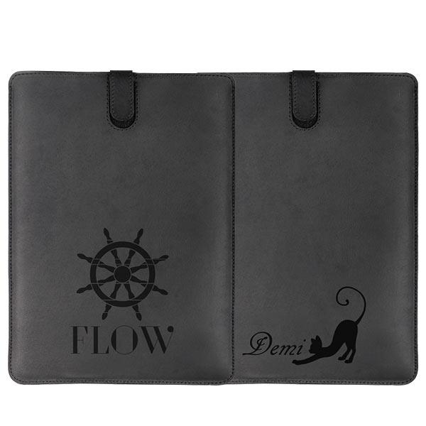 Cover personalizzata iPad air in pelle