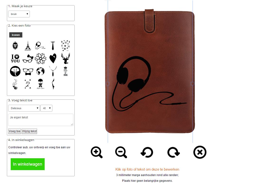 Personalizza la tua cover per iPad Air