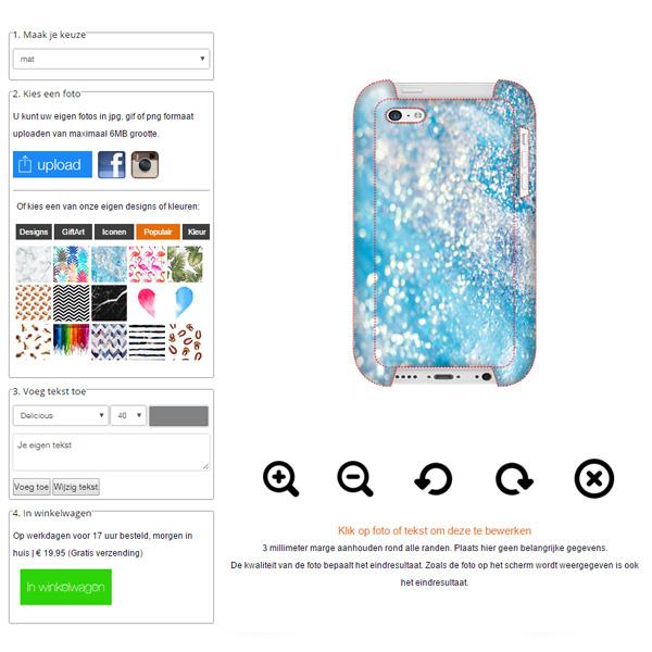 Crea la tua cover personalizzata iPhone 5C