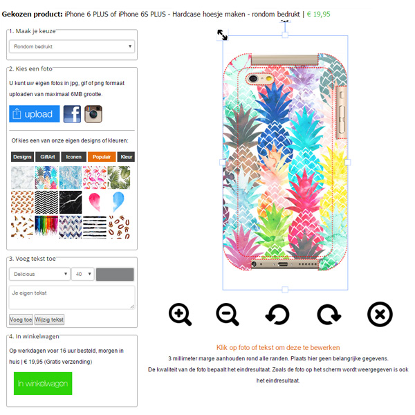 Cover iPhone 6 Plus personalizzate