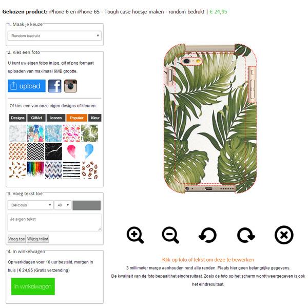 Crea la cover personalizzata per il tuo iPhone 6 & 6S