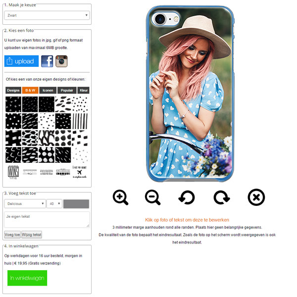 Personalizza cover iPhone 7