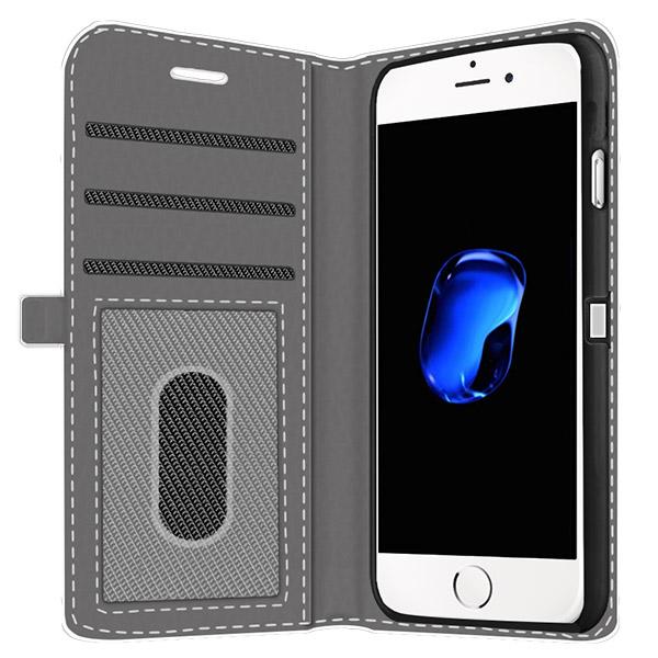 iPhone 7 fullprint walletcase met foto