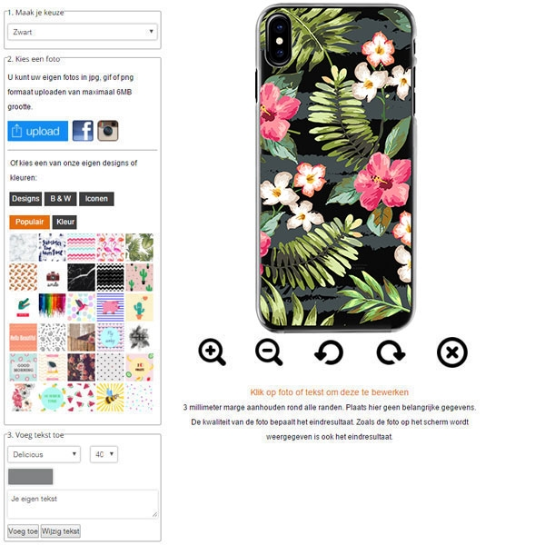iPhone 8 cover personalizzata morbida