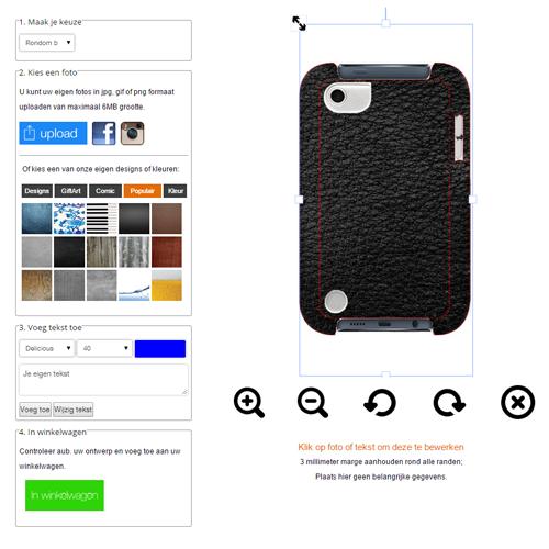Cover personalizzata Ipod 5