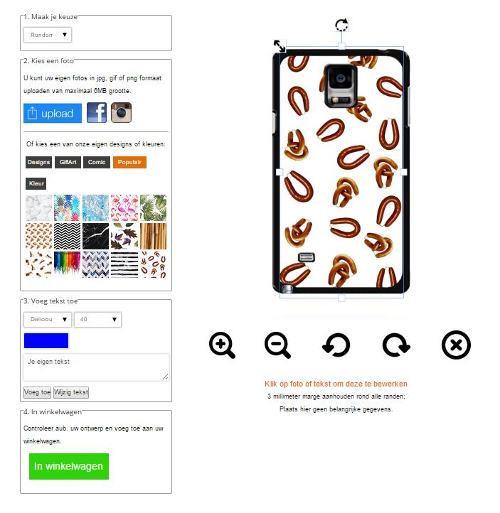 Personalizzare cover Samsung Galaxy Note 4