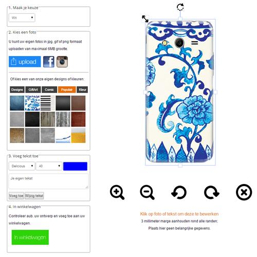 Creare cover Samsung Galaxy core 2