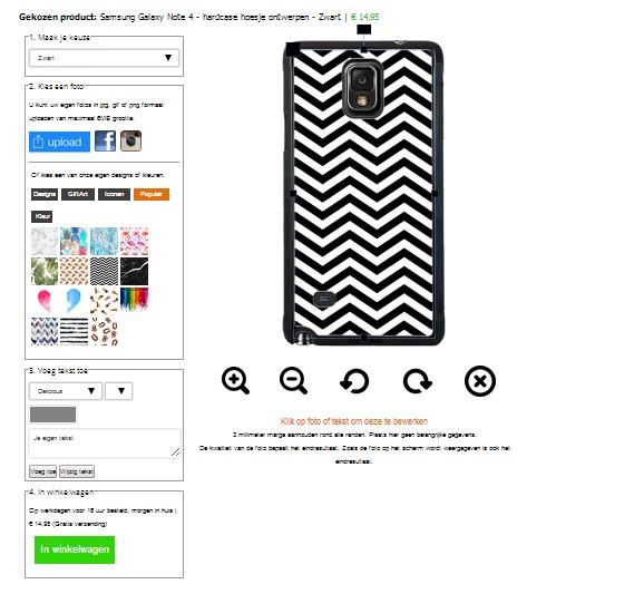 Crea la tua cover per Samsung Galaxy Note