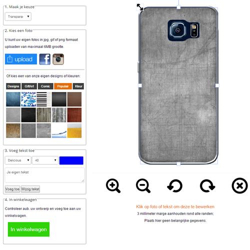 Cover personalizzabili S6 Edge