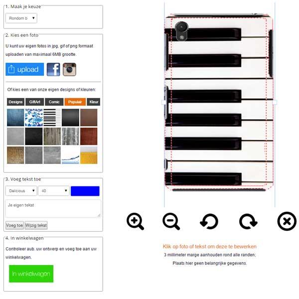 Crea la tua cover Sony Xperia Z3