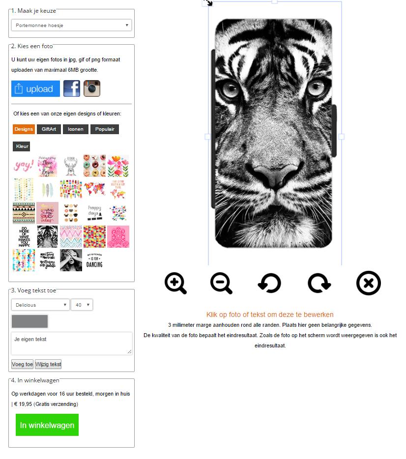 Personalizzare cover per Sony Xperia Z5 compact