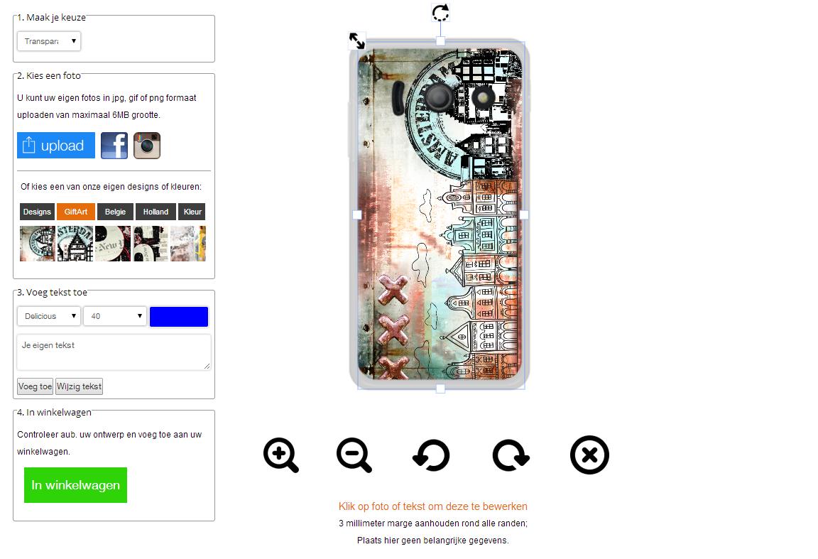Progetta la tua cover personalizzata per Huawei Y300